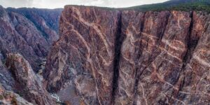 Black Canyon of the Gunnison Painted Wall