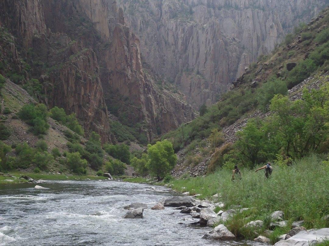 Gunnison River Route Hiking Colorado