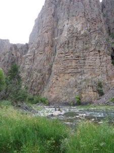 Gunnison River Montrose Colorado