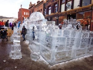 Cripple Creek Ice Fest Ice Castle