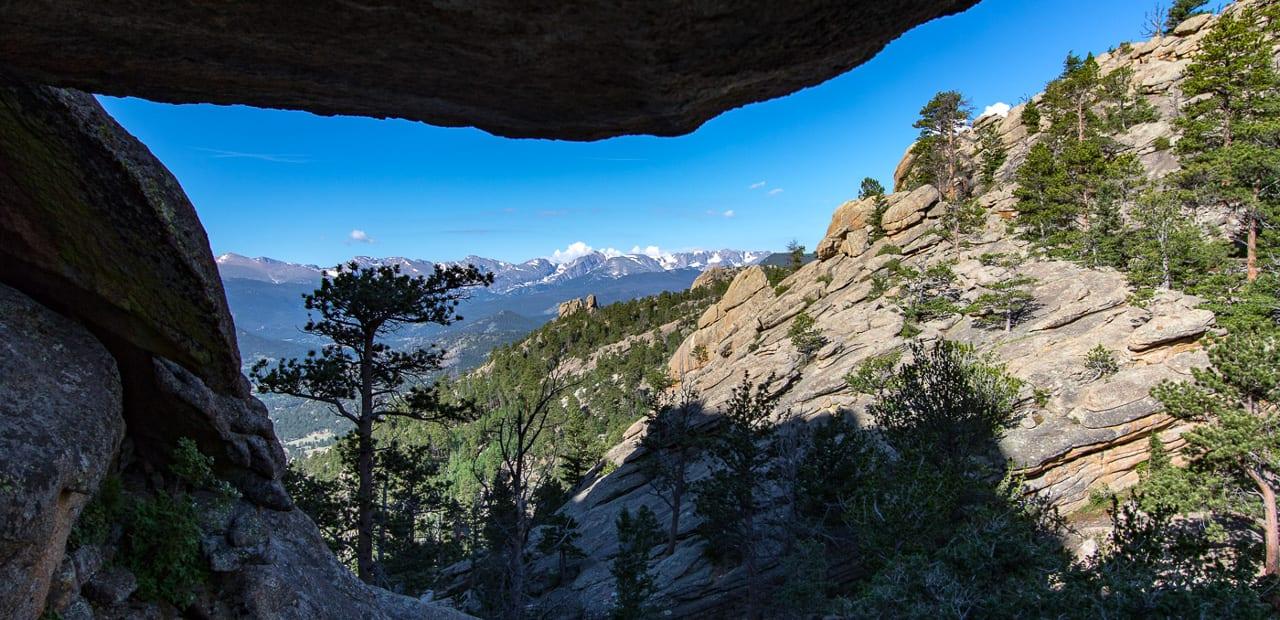 Hiking Gem Lake Trail Colorado Aerial View