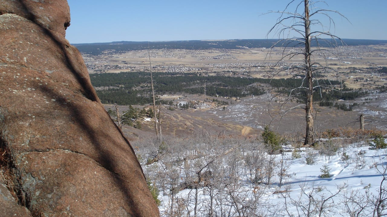 Mount Herman Hiking Trail Monument Colorado