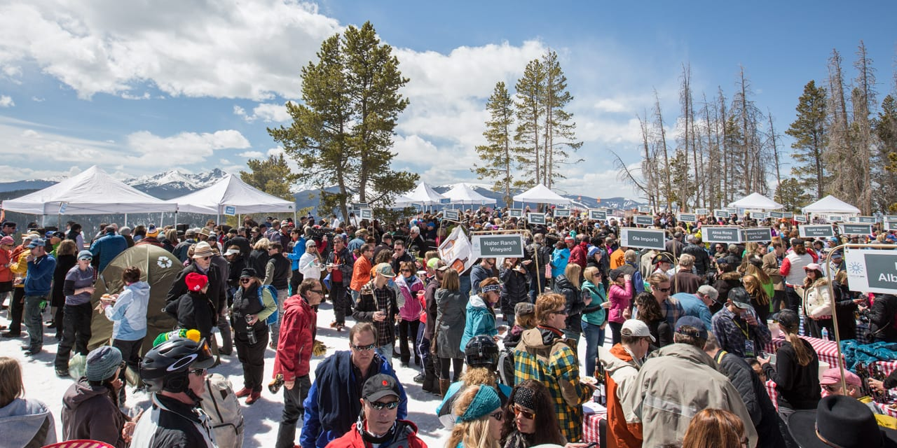 Taste of Vail Mountain Top Picnic