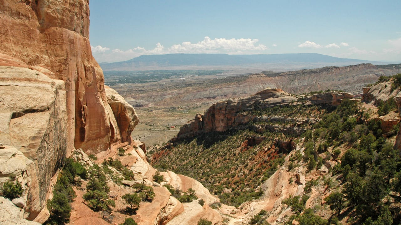 Serpents Trail Overlook Colorado National Monument