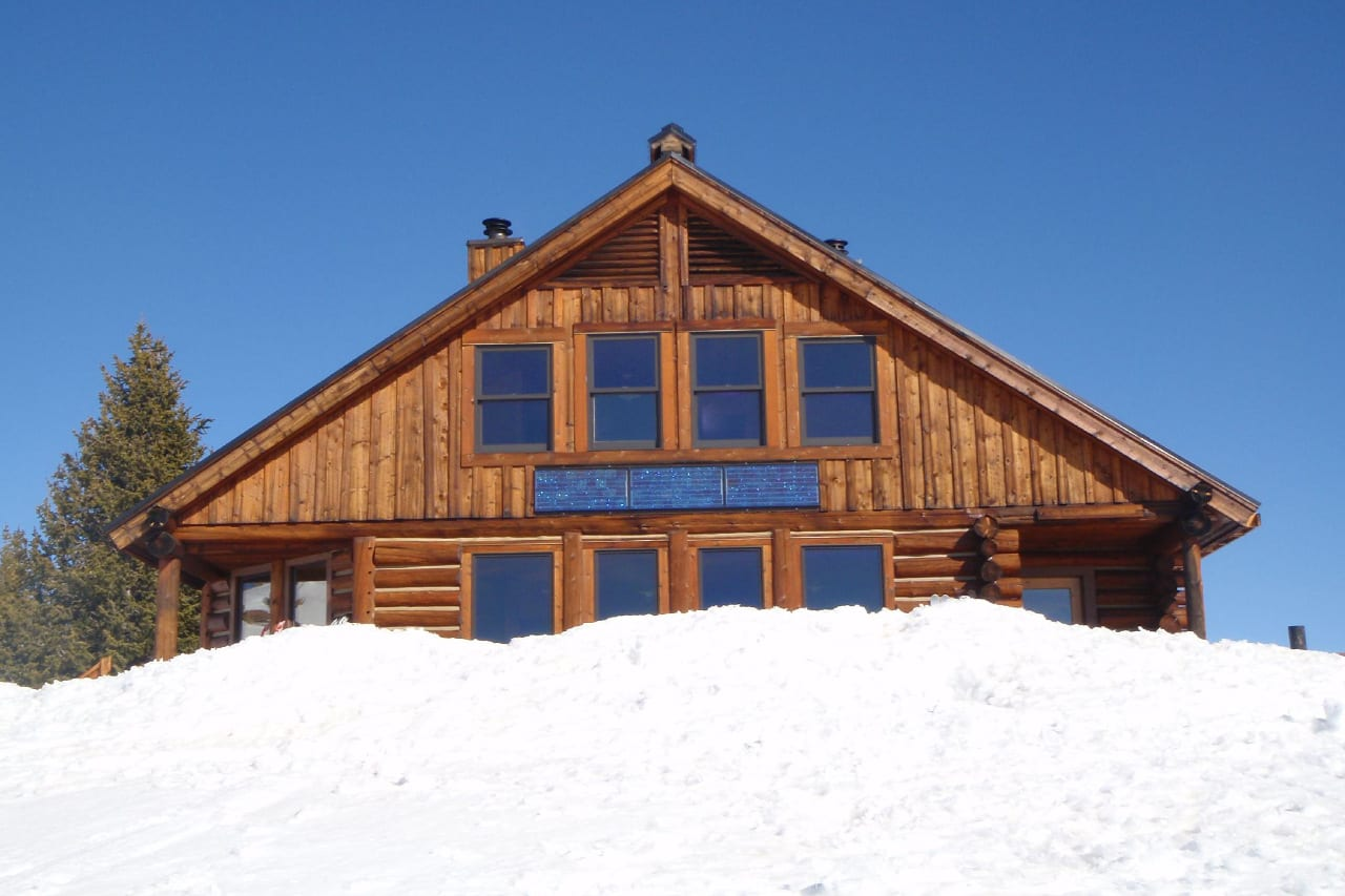 Fowler-Hilliard Hut 10th Mountain Division Colorado