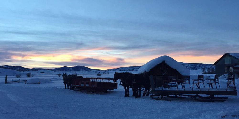Bar Lazy L Ranch Sleigh Ride Colorado