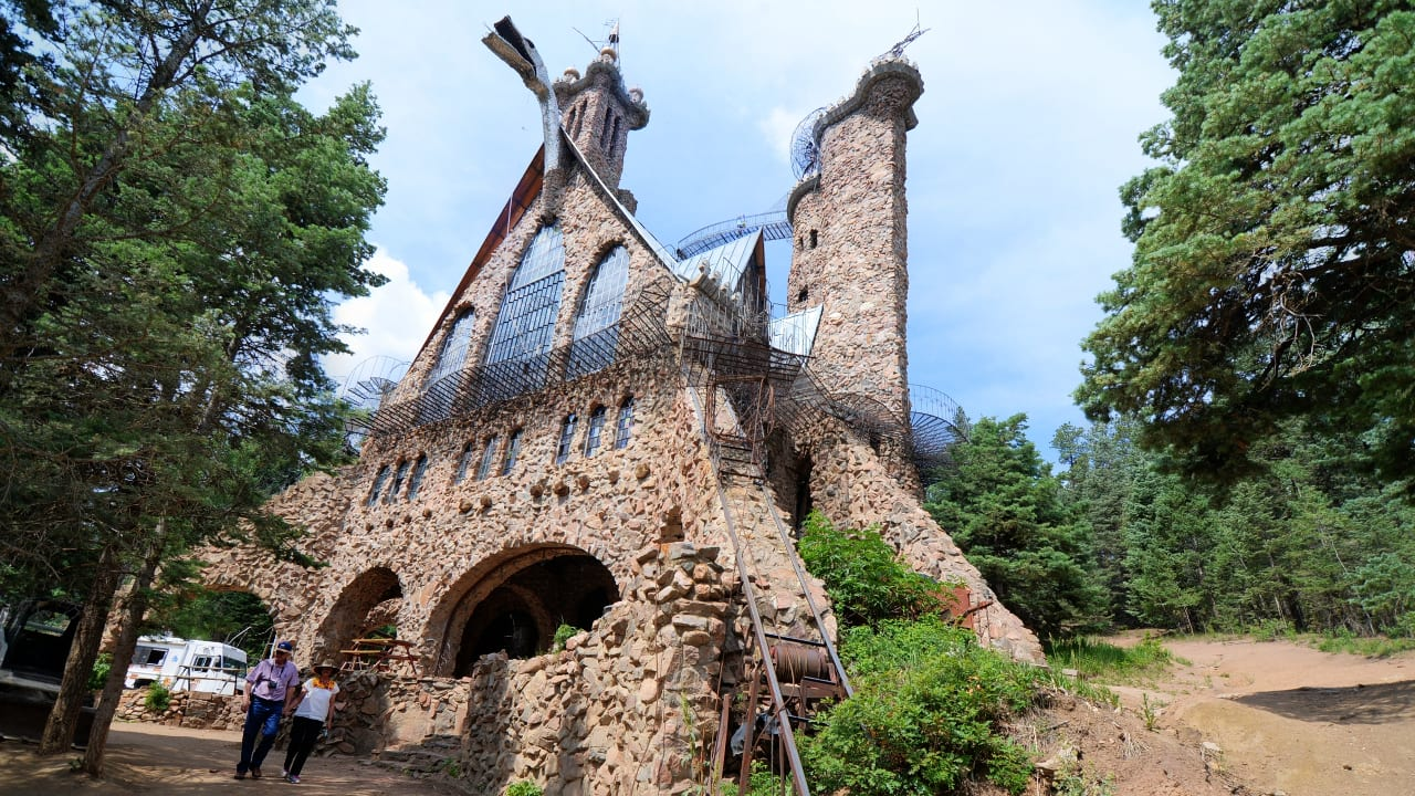 Bishop Castle Rye Colorado