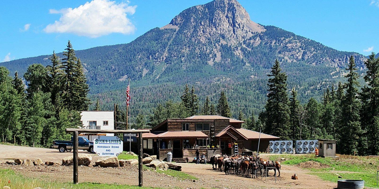 Buck's Livery Horseback Riding Durango Colorado