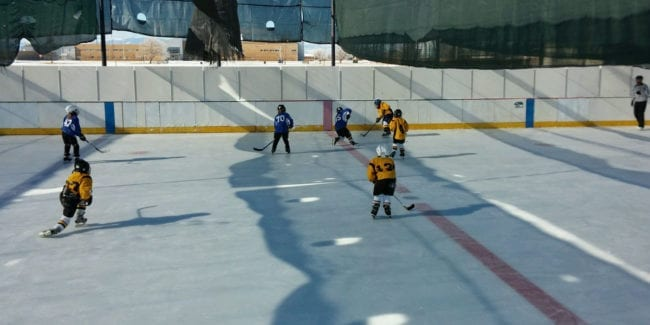Carroll Park Ice Rink Alamosa Hockey