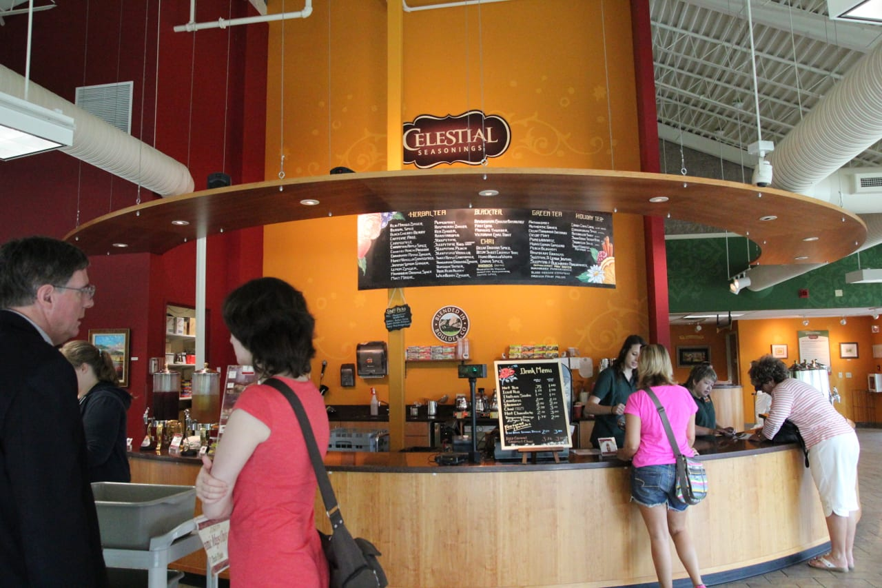 Celestial Seasonings Factory Tour Tea Shop Boulder