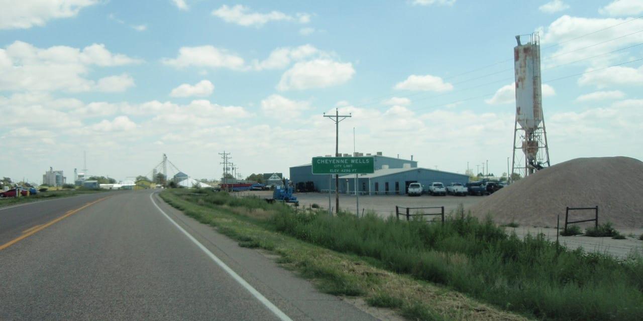 Cheyenne Wells Colorado City Limits