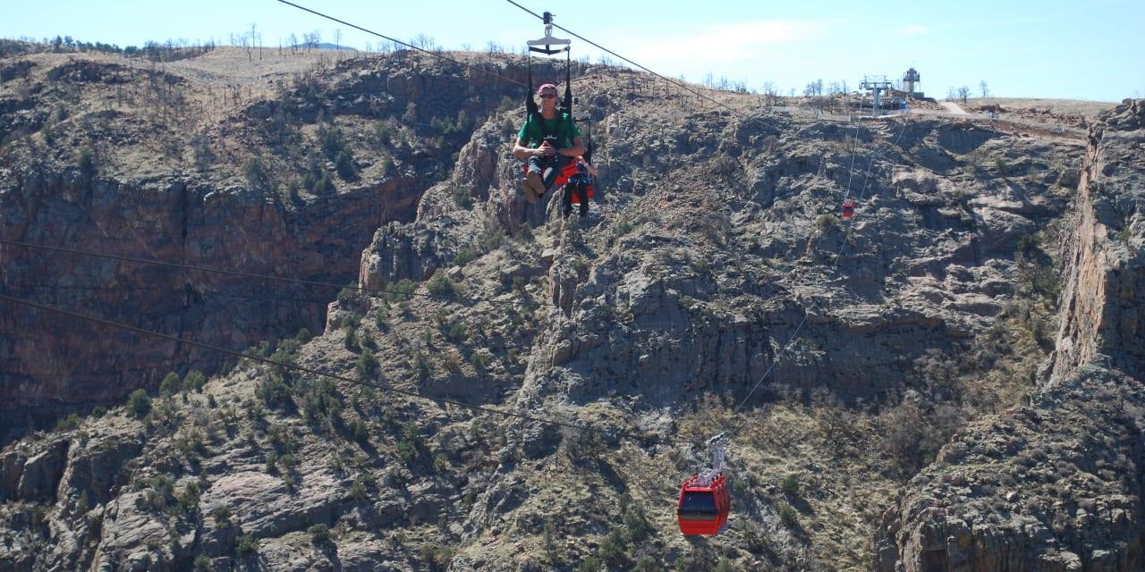 Cloudscraper Zip Line Canon City Colorado