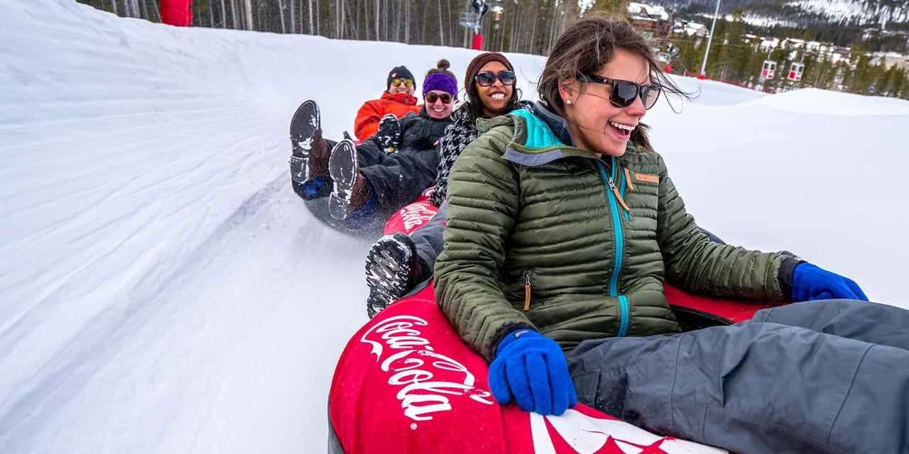 Coca-Cola Tubing Hill Winter Park Colorado