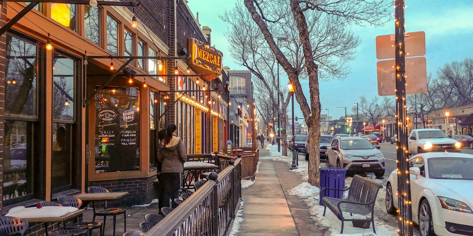 Colfax Avenue in Denver, Colorado