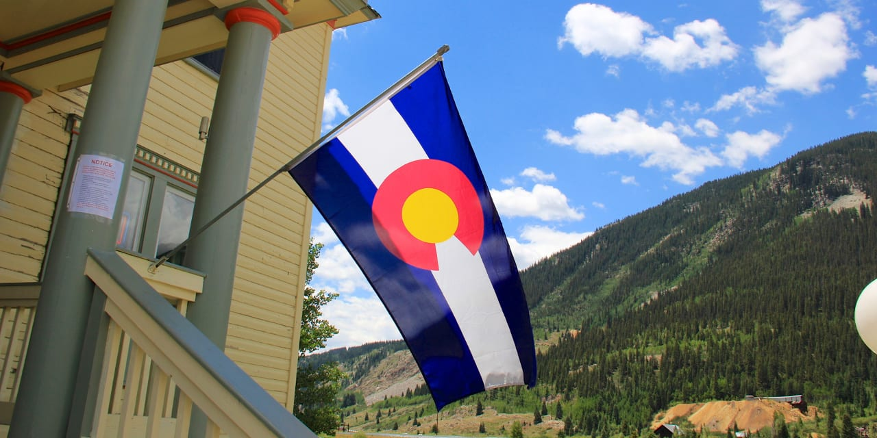 Colorado Flag Theme Gift