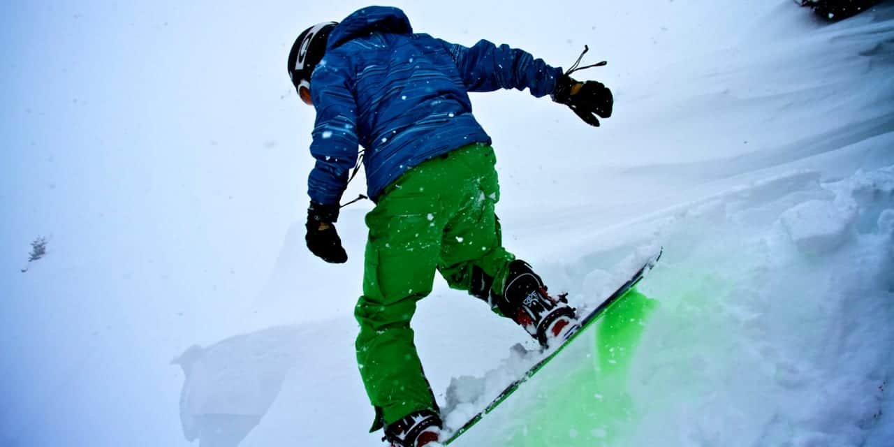Colorado Sports Gifts Never Summer Snowboard