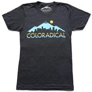 Coloradical T-Shirt Denver Skyline
