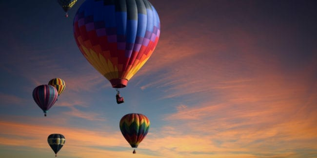 Things To Do In Colorado Hot Air Balloons