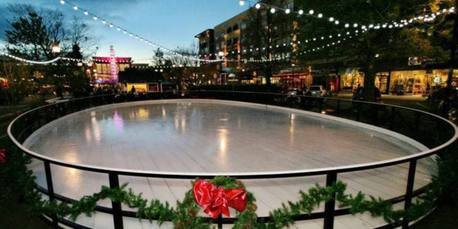 Cube Ice Rink Streets of Southglenn Centennial