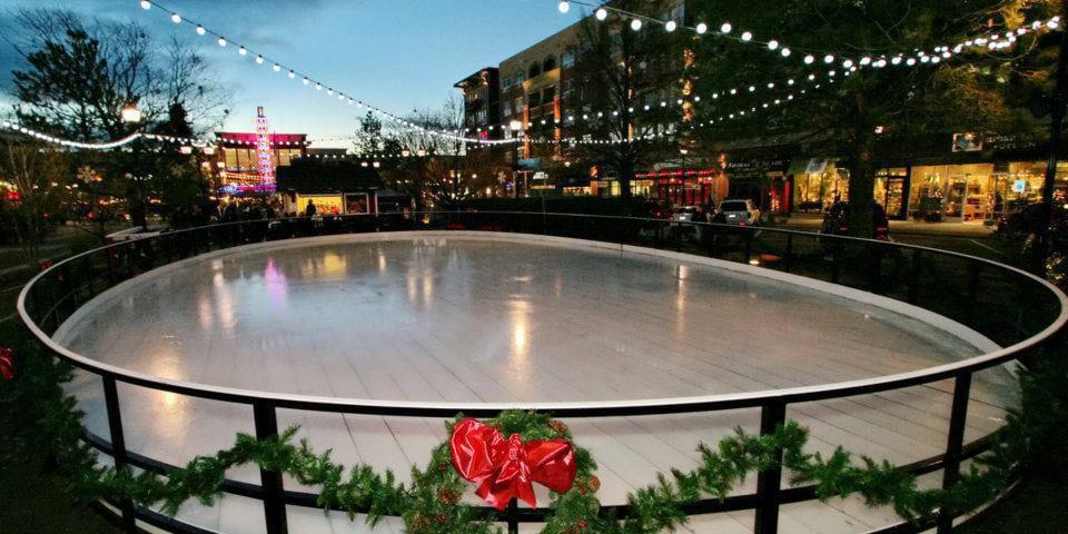 Cube Ice Rink Streets of Southglenn Centennial