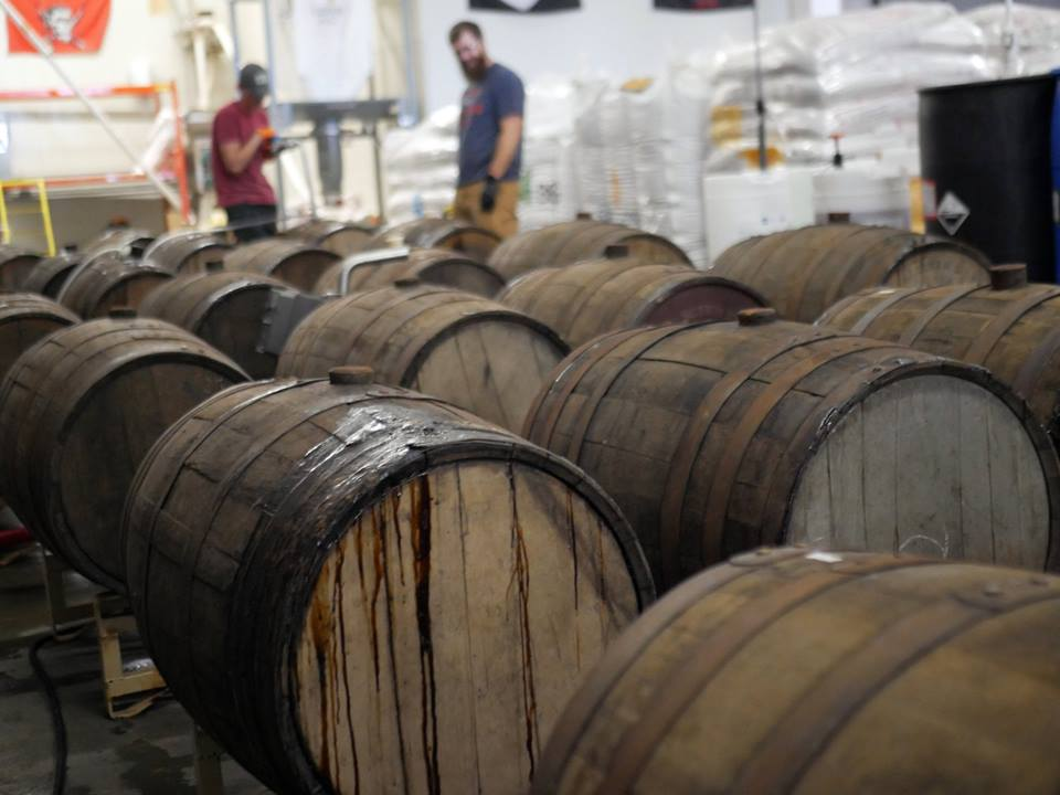 Dry Dock Brewery Tour Beer Barrels Aurora Colorado