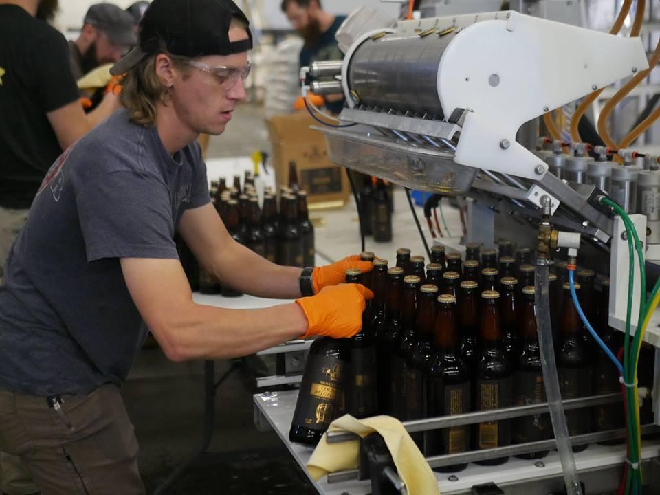 Dry Dock Brewery Tour Bottling Aurora Colorado