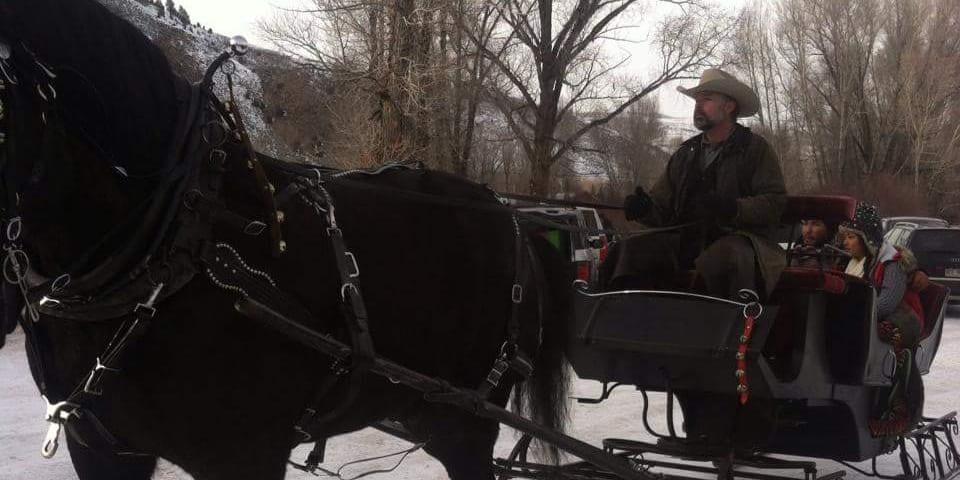 Fantasy Ranch Sleigh Ride Crested Butte Colorado