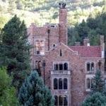 Glen Eyrie Castle Colorado Springs Aerial View