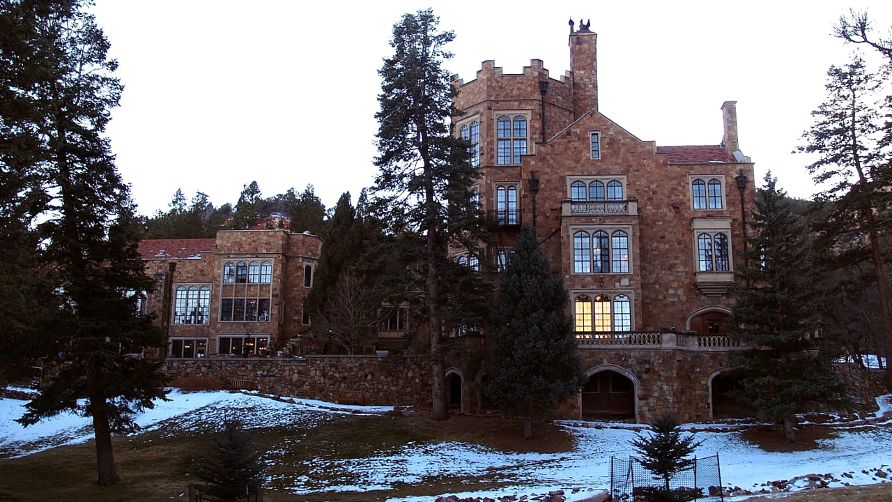 Glen Eyrie Castle Colorado Springs Winter