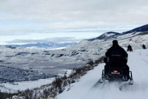 Snowmobiling Summit County Colorado HCT Birdseye Tour