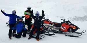 Snowmobile Tour Breckenridge Colorado HCT