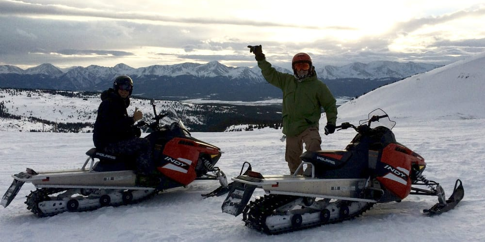 Snowmobile Tour Breckenridge Colorado