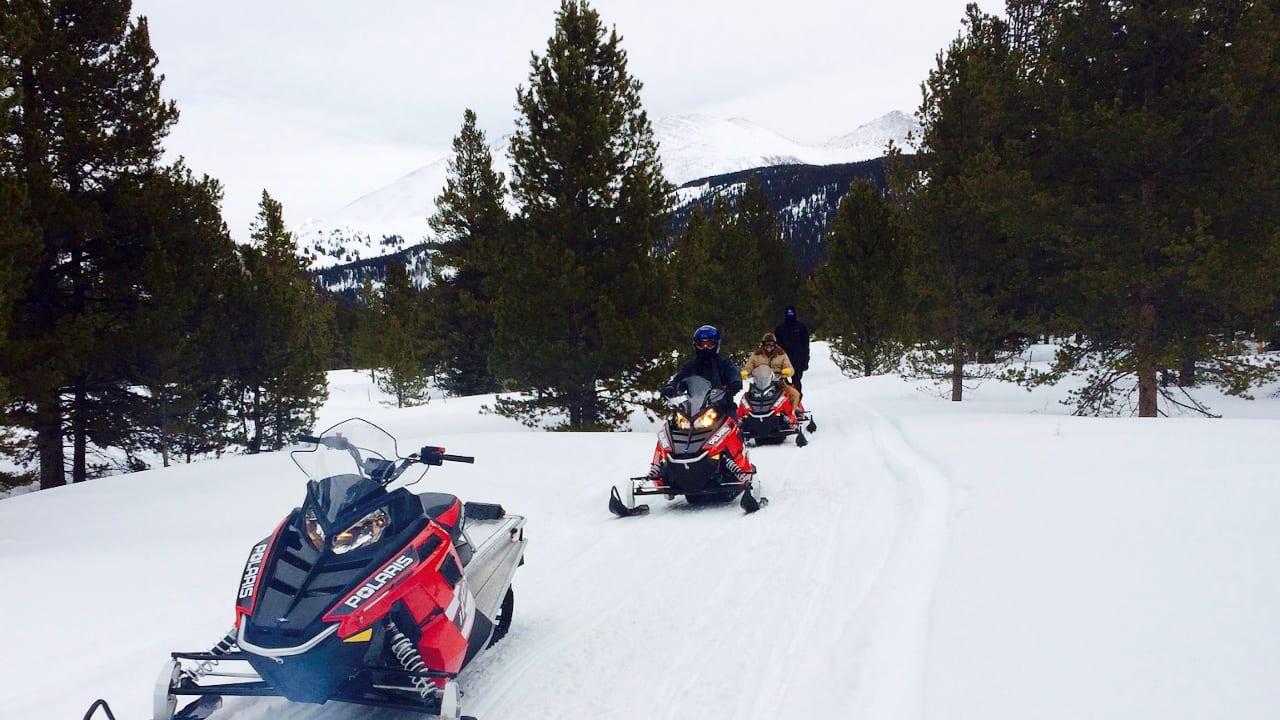 Snowmobile Tour Copper Mountain Colorado