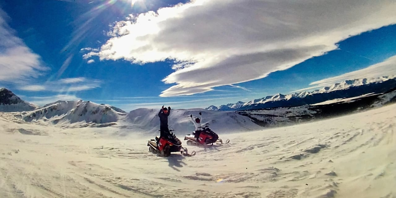 Snowmobiling Keystone Colorado High Country Tours