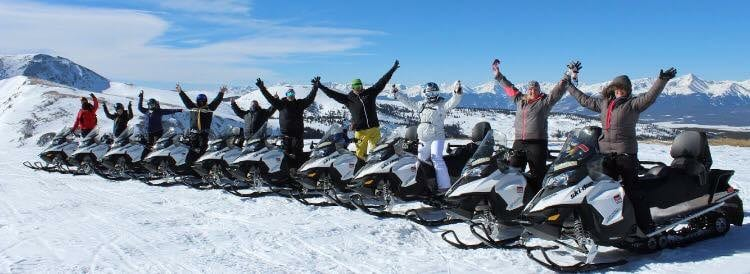 High Country Tours Snowmobile Rentals Summit County Colorado