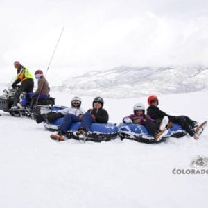 Snowmobile Snow Tubing Keystone Colorado High Country Tours