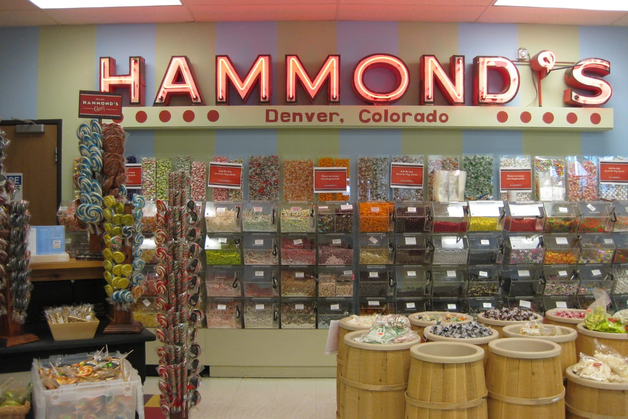 Hammond's Candies Factory Tour Denver Candy Shop