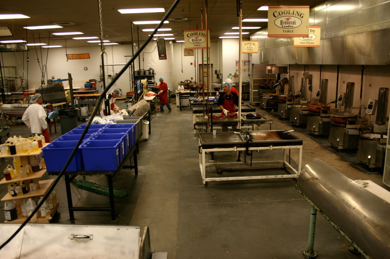 Hammond's Candies Factory Tour Denver