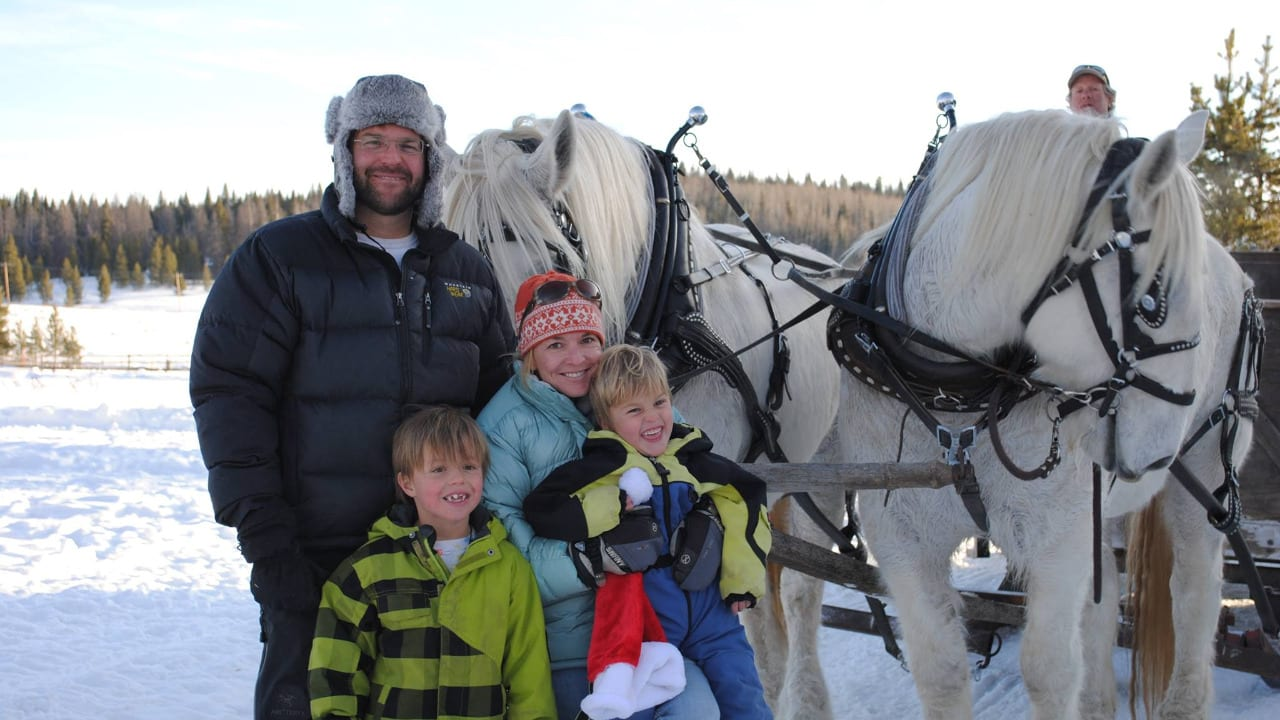 Hahns Peak Roadhouse Sleigh Ride