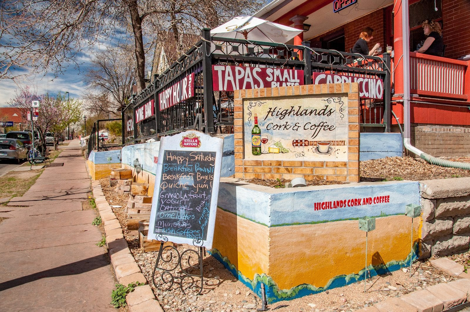 Highlands Cork & Coffee, Denver