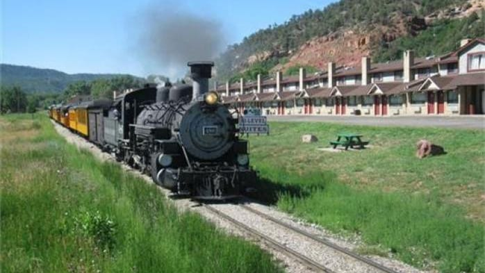 Iron Horse Inn Train Durango Colorado