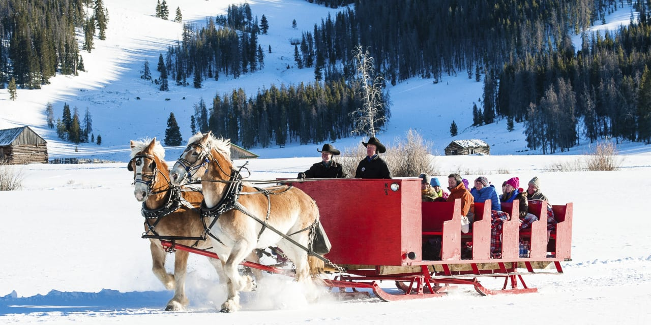 Keystone Resort Dinner Sleigh Ride Colorado