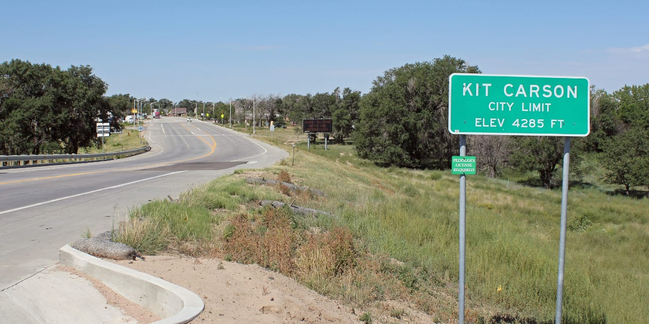 Kit Carson Colorado City Limit