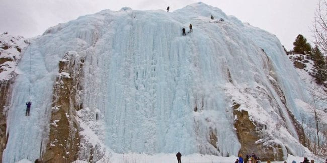 Ice Climbing Lake City Ice Park