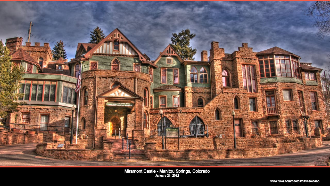 Miramont Castle Manitou Springs Colorado