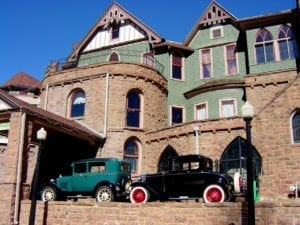 Miramont Castle Manitou Springs Classic Cars