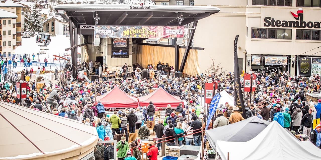 MusicFest Steamboat Springs Gondola Square Concert