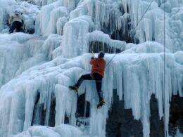 Ouray Ice Park Ice Climbing
