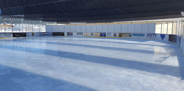 Pagosa Pavilion Ice Skating Colorado