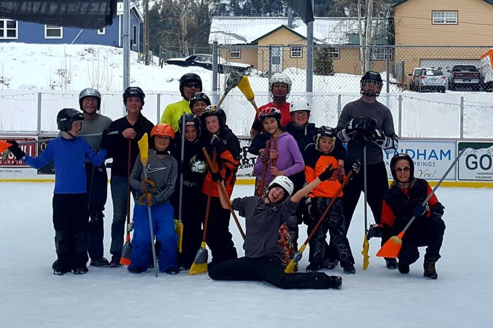 Pagosa Springs Ice Skating Broomball